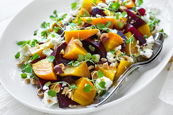 roasted beet salad the cozy apron