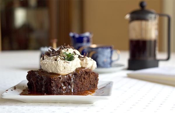 Mocha Caramel Brownie