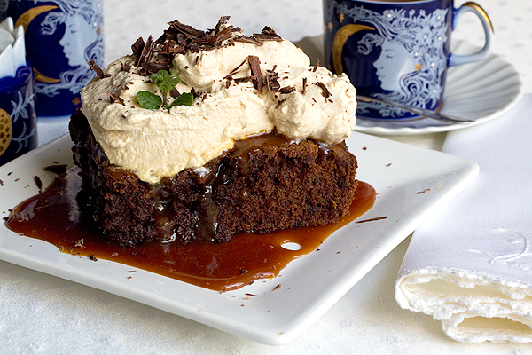 Mocha Caramel Brownie
