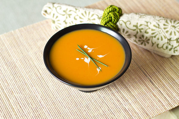 Gingered Carrot and Coconut Soup