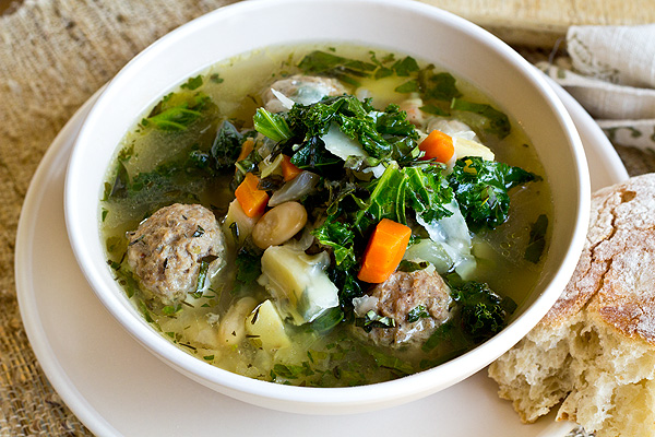 Now That's A Mighty Tasty Meatball Soup!