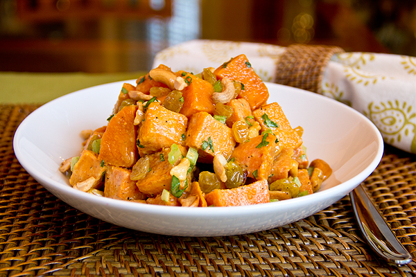 Curried Sweet Potato Salad