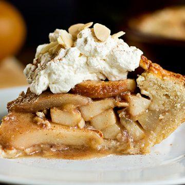 Rustic Pear Pie