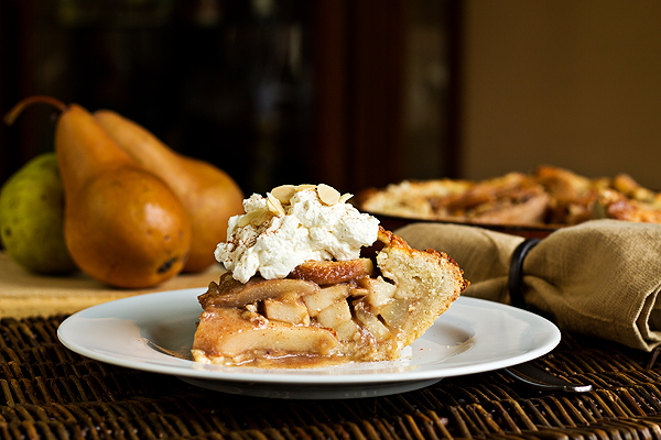 Rustic Pear Pie