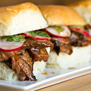 Smokey Hoisin Steak Sliders, Goodies That Come in Slider-Sized Packages