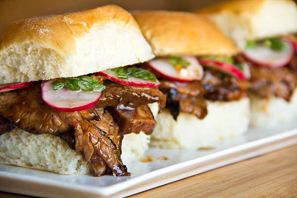Smoky Hoisin Steak Sliders, Goodies That Come in Slider-Sized Packages