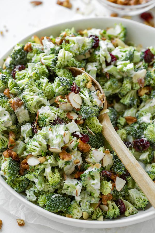 Broccoli Salad | thecozyapron.com