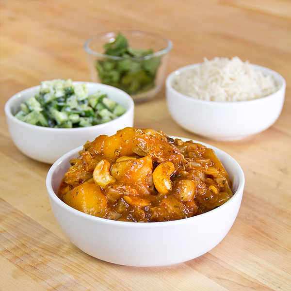 Chicken Curry with Mango | thecozyapron.com