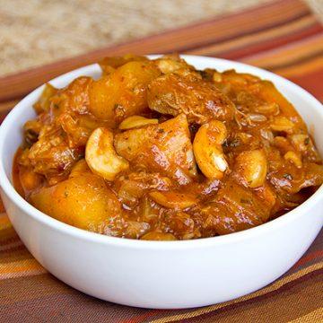 Sweet Curried Mango Chicken