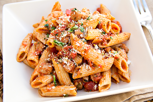 Whole Wheat Penne Pasta