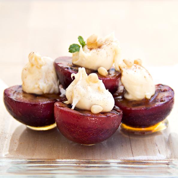 Cozy Cameo: A Plum Pick For Dessert