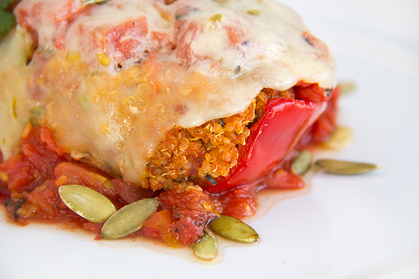 Stuffed Bell Peppers | thecozyapron.com