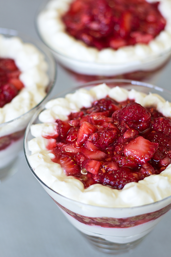 Reby-Red Summer Berry Cheesecake