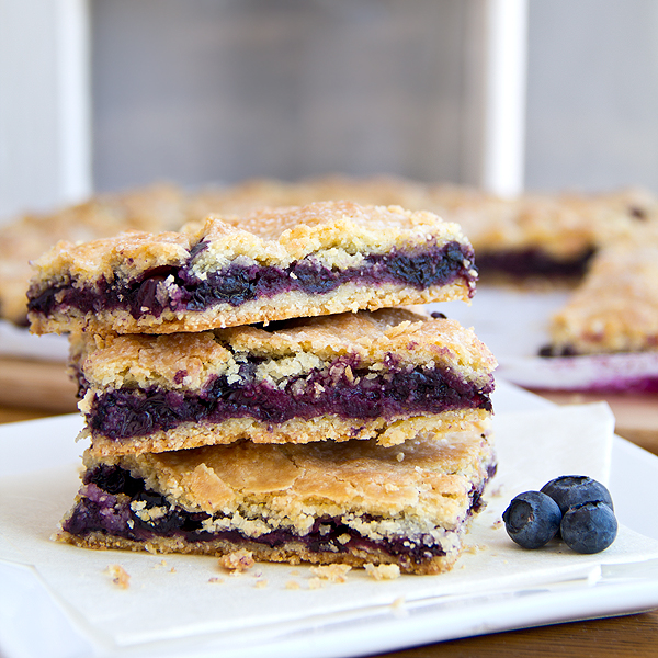 "Cozy Cameo: Getting A Little Corny with Juicy Summer Blueberry ""Pie"" Bars post image"