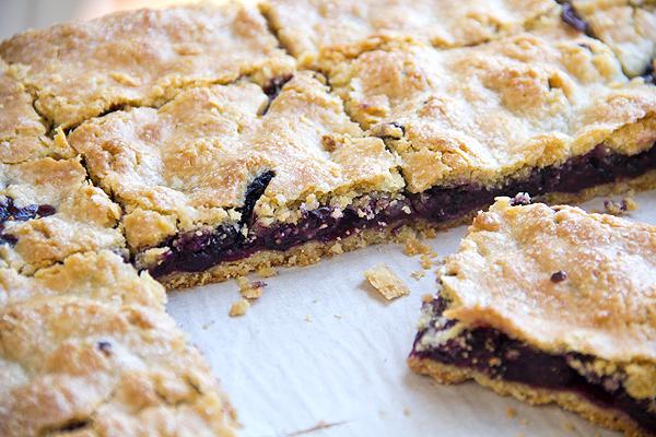 Blueberry Pie Bars