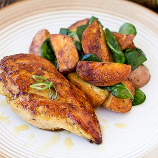 Honey-Dijon Glazed Chicken During Leaps Of Faith