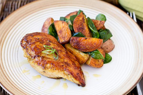 Honey-Dijon Glazed Chicken