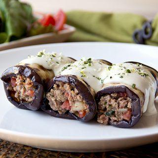 Greek-Style Grilled Eggplant Roll-Ups, A Twist On The Familiar