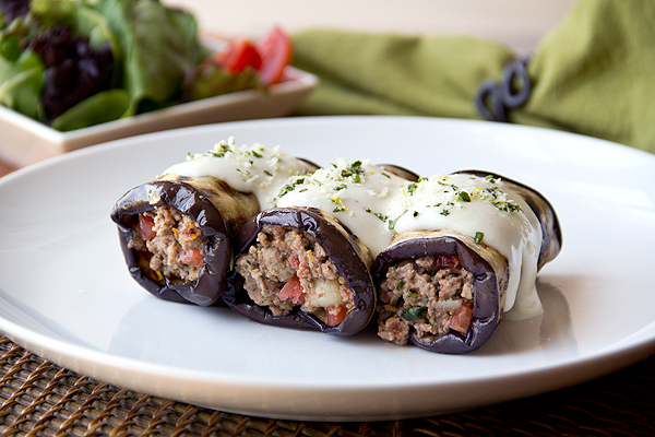 Moussaka Roll-Ups