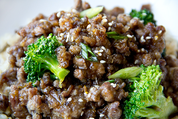 Sweet, Crispy Orange Beef And Welcoming Life's Gentle Abrasion