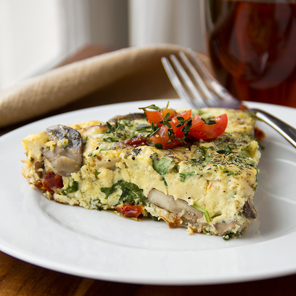 Cozy Cameo: Sunday Morning Breakfast Frittata, And My Dream Of An Endless Weekend