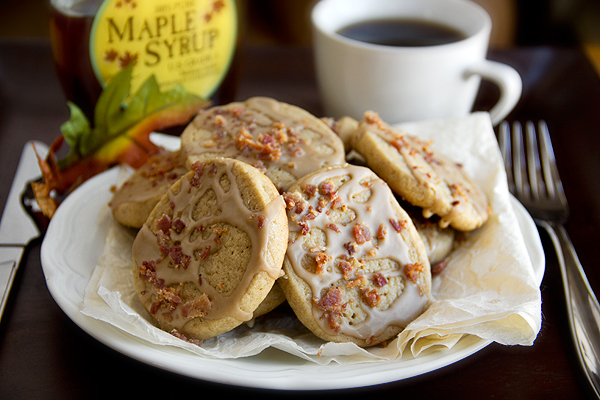 Pancakes 'n' Bacon Cookies, and Breakfast for Dinner or as a Snack