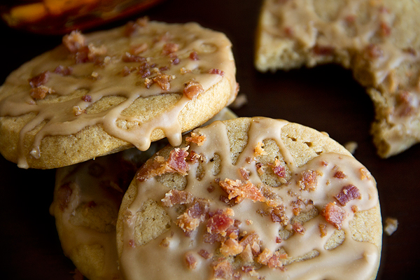 Pancakes 'n' Bacon Cookies