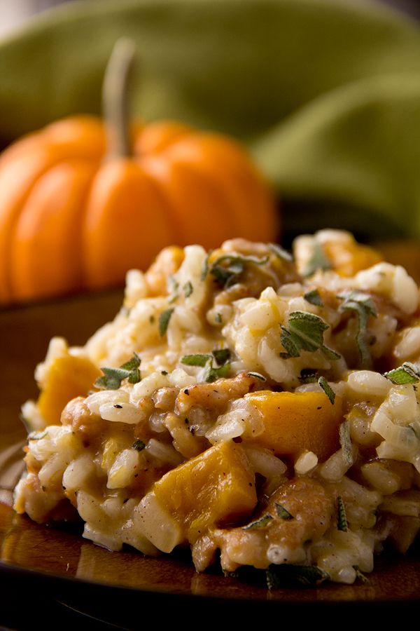 "Roasted Pumpkin Risotto, And The Legacy Of ""The Littlest Pumpkin"""