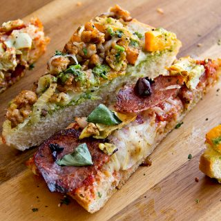 Rustic Bread Pizzas, And Thirty Minutes In The Fairy Realm