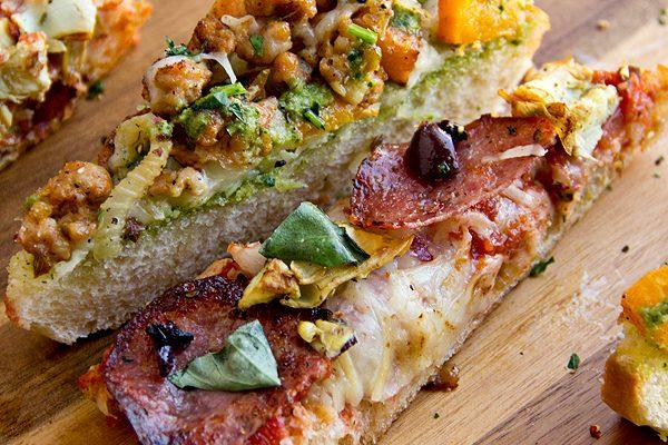 Rustic Bread Pizza