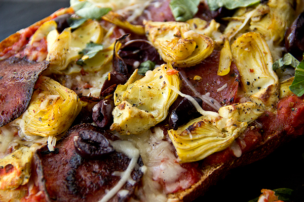 Rustic Bread Pizza