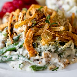 A Cozy Thanksgiving: Savory French Green Bean Casserole, Hold the Cans!
