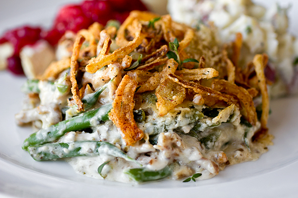 Post image for A Cozy Thanksgiving: Savory French Green Bean Casserole, And Hold The Cans