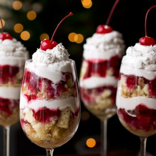 "A Cozy New Year's Eve: Boozy ""Party In A Glass"" Parfaits, And Some Wishes For 2013"