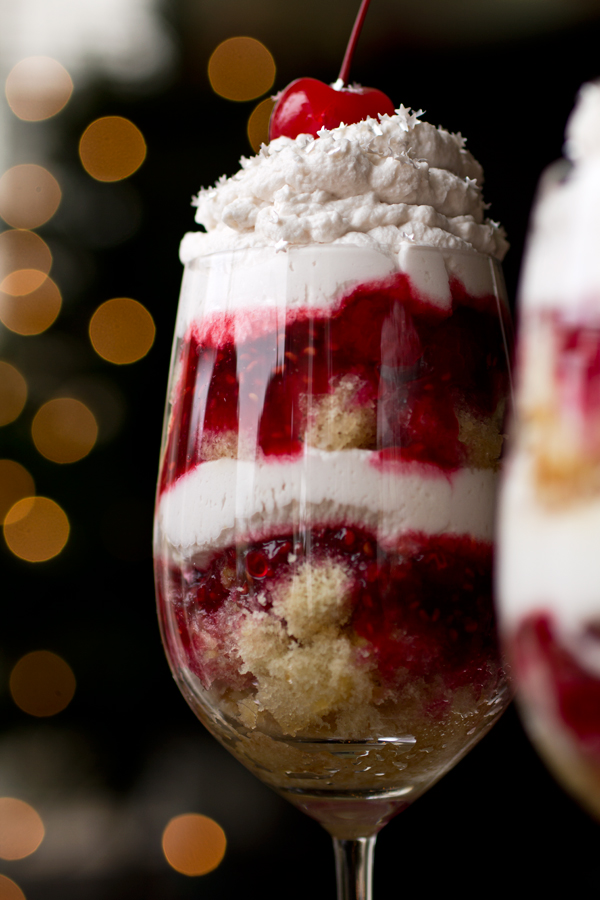 Boozy Berry Parfait Recipe — Dishmaps