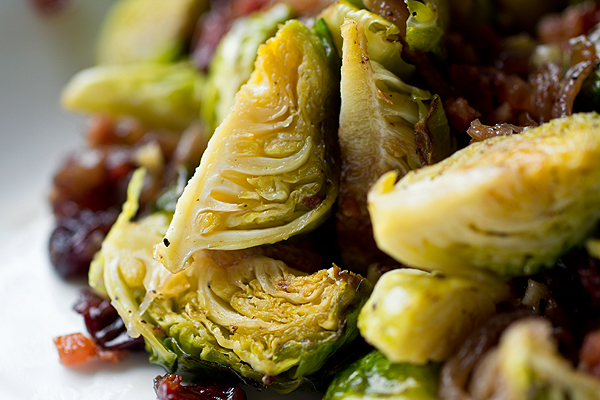 Cider-Glazed Brussels Sprouts | thecozyapron.com