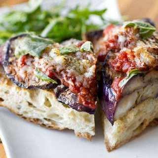 A Cozy Resolution: Grilled Eggplant Parmesan, De-Breaded & Au Natural
