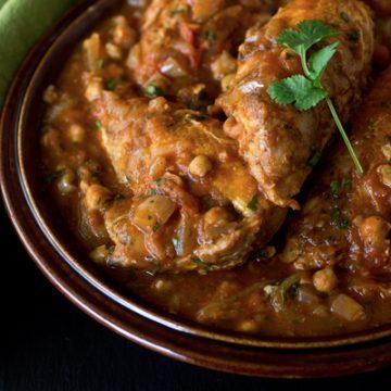 Moroccan-Style Braised Chicken