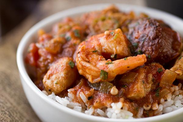 """""""Gumbo-laya"""" (Gumbo + Jambalaya) Stew, Turns up the Heat on Winter"""