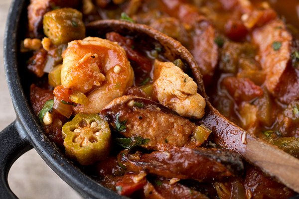 Gumbo and Jumbalaya in one dish