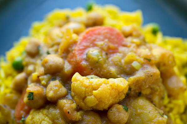 Curried Vegetable Stew