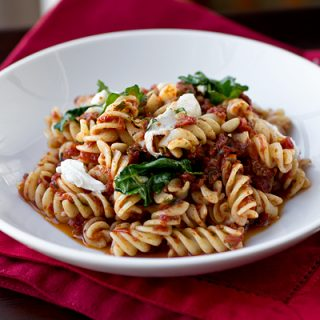 "A Cozy Pasta: ""Fusilli a la Brando"", Playing The Role Of The Brooding Type"