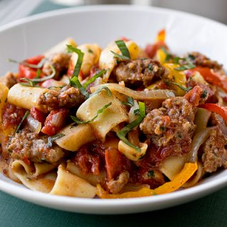 A Cozy Pasta: Italian Drunken Noodles, and Shaking Things up a Bit