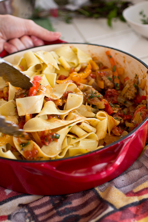 "Cozy Pasta: Italian ""Drunken"" Noodles, And Shaking Things Up A ..."