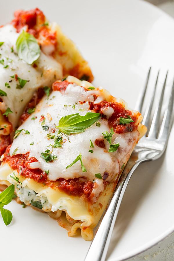 Lasagna Roll Ups | thecozyapron.com