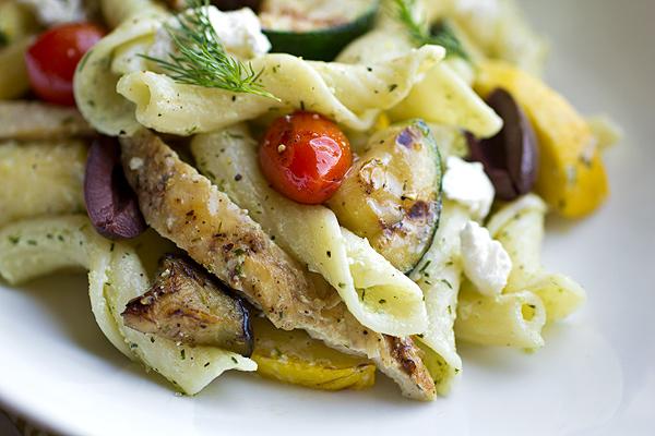 Cozy Pasta: Warm Mediterranean Pasta Salad and Imagining A Little ...