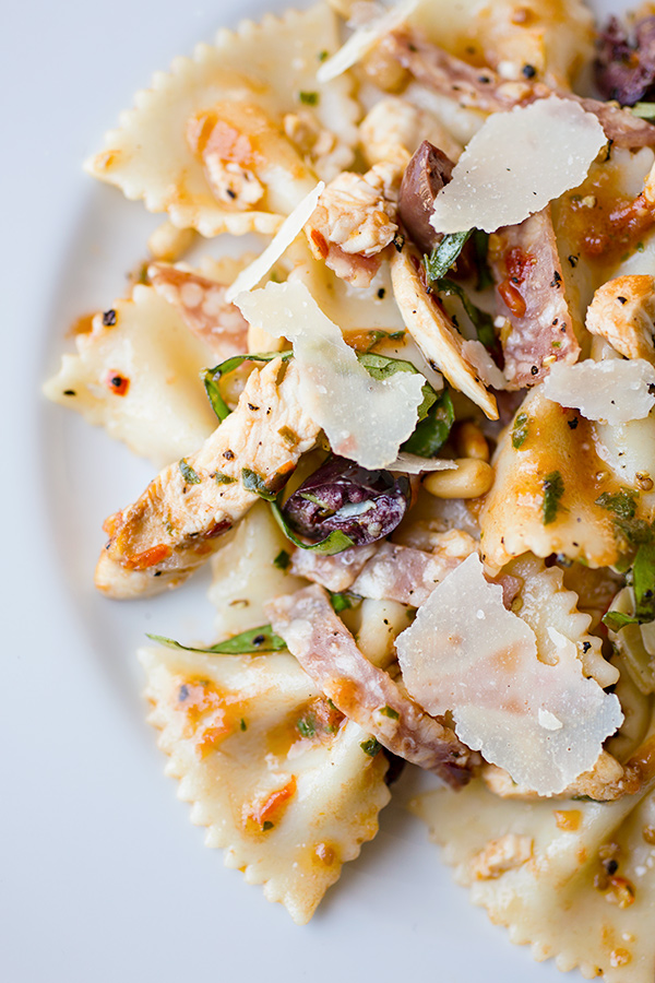 """... Lunchbox: """"The Fiery Italian"""" Pasta Salad, One Heck Of A Spitfire"""