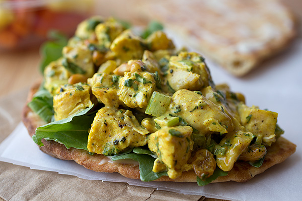 Curried Chicken Salad Recipe Dishmaps