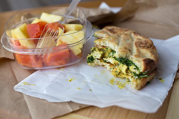 Curried Chicken Salad Sandwich