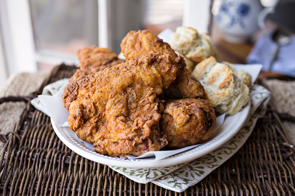 "Cozy Chicken: ""Colonel Cozy's"" Double-Dredged & Fried Chicken, My Salute To The Four ""F's"" post image"
